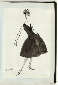 Drawing Maison Jacques Heim - AW 1959-1960