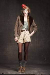 Edie - JCrew Fall 2010 RTW Shorts and Jacket