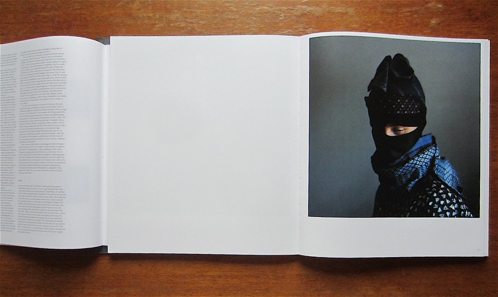 "View of the book ""Stasis"" by Trine Søndergaard, published by Hatje Cantz."