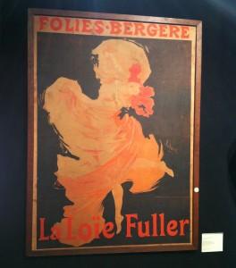 Jules Chéret - Folies Bergères, la Loie Fuller, 1893.