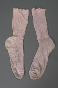 Socks Sir Arthur Conan Doyle Personal Effects, Item 22 Harry Ransom Center The University of Texas at Austin Photo by Pete Smith