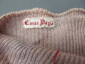 Socks Sir Arthur Conan Doyle Personal Effects, Item 22 Harry Ransom Center The University of Texas at Austin Photo by Jenn Shapland