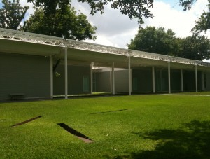 North facing facade of The Menil Collection Photo by Jill Morena