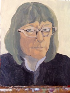 A self-portrait of my mum, June 2014