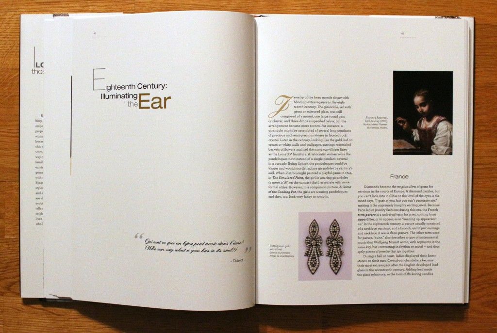 """From """"I Love Those Earrings"""" by Jane Merrill and Chris Fulstrup, 2014."""