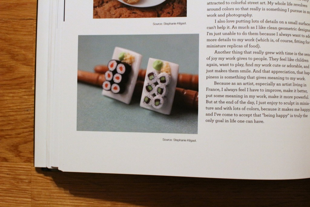 "Sushi earrings by Stephanie Kilgast. Pictured in ""I Love Those Earrings"" by Jane Merrill and Christ Filstrup, 2014."
