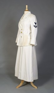 US Navy Yeoman (F) uniform American, 1918 KSUM 2013.43.1 a-d Photograph by Vanessa Port