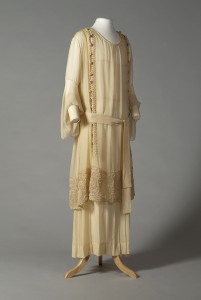 Wedding dress American, 1918 KSUM 1995.17.1762 Photograph by Joanne Arnett