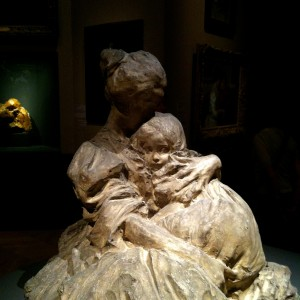 Paul Troubetzkoy – La mère et l'enfant, 1898