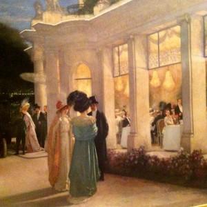 Henri Alexandre Gervex - Une soirée au Pré Catelan, 1909