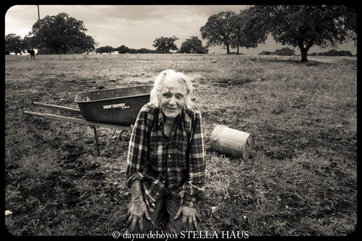 Woman in the Field photographed by Stella Haus Films