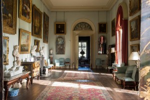 A view of the Picture Gallery at Houghton Hall. Photo: James Merrell