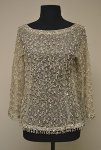 Evening overblouse, courtesy The Ohio State University Historic Costume & Textiles Collection, 1986.162.24