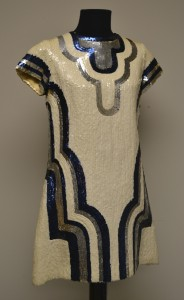 Scuba Duba evening dress, 1968, courtesy The Ohio State University Historic Costume & Textiles Collection, 1990.576.3
