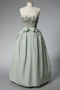 Evening dress, ca. 1959, courtesy Western Reserve Historical Society, 89.83.16