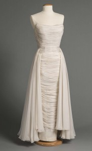 Evening dress, 1957, courtesy Western Reserve Historical Society, 89.83.19