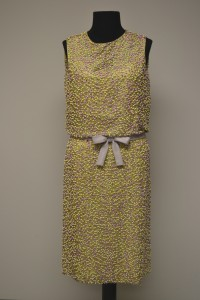 Evening dress, ca. 1965, courtesy The Ohio State University Historic Costume & Textiles Collection, 1986.162.25