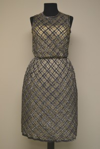 Evening dress, courtesy The Ohio State University Historic Costume & Textiles Collection, 1986.162.15