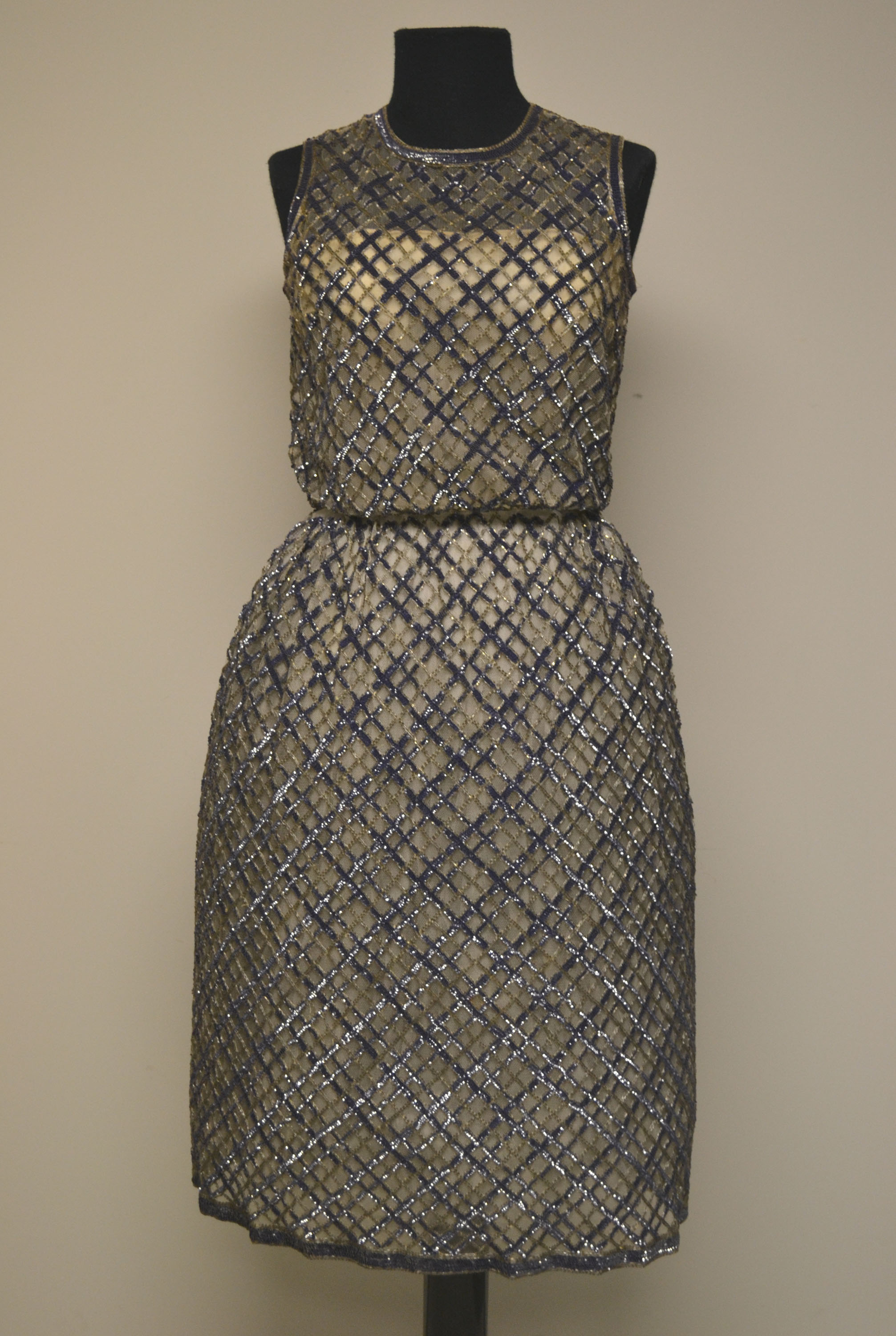 research award guest post discovering bob bugnand worn through evening dress courtesy the ohio state university historic costume textiles collection 1986 162