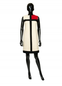 Yves Saint Laurent, Mondrian dress, 1965 Copyright: PB Fashion