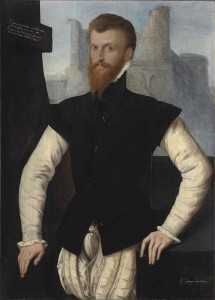 Unknown, Portrait of Edward Courtenay, 1st Early of Devon (1526-1556), c. 1555, oil on panel: http://commons.wikimedia.org/wiki/File:Edward_Courtenay_1st_Earl_of_Devon.jpg