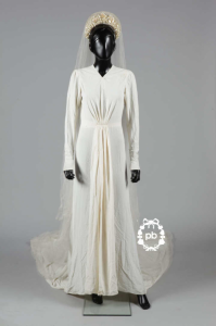Jeanne Lanvin Wedding Dress, 1936 Copyright: PB Fashion