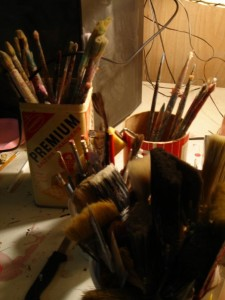 Paintbrushes by Stella Haus