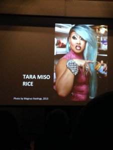 In both visual and rhetorical terms, many Asian American drag queens express the complexity of their cultural identities.