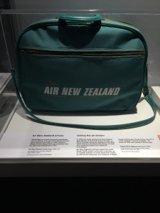Air NZ travel bag from 1965 - 73