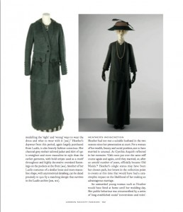 Tailored jacket and skirt, Lucile, 1912 from London Society Fashion 1905-1925: The Wardrobe of Heather Firbank, V&A Publishing, 2015