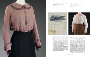 Blouses from Mascotte and Irish Linen Stores, ca. 1910 and 1912 from London Society Fashion 1905-1925: The Wardrobe of Heather Firbank, V&A Publishing, 2015