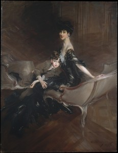 Consuelo Vanderbilt Boldini Copy