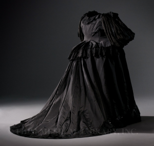 Dress c. 1897 Helen Larson Historic Fashion Collection