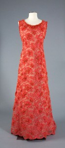69.11.1 Hubert de Givenchy Evening Dress c. 1964, French Gift of Her Serene Highness, Princess Grace of Monaco