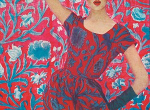 Liberty constantia print 1961 fashion