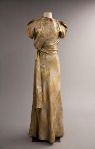 55.3.12 Elsa Schiaparelli 'Zodiac Collection' Evening Dress Winter 1938-39, French Gift of Mrs. Rodolphe Meyer de Schauensee