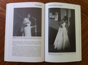 Two alternative styles of Billie Holiday, from Alphonso McClendon's Fashion and Jazz, Bloomsbury, 2015