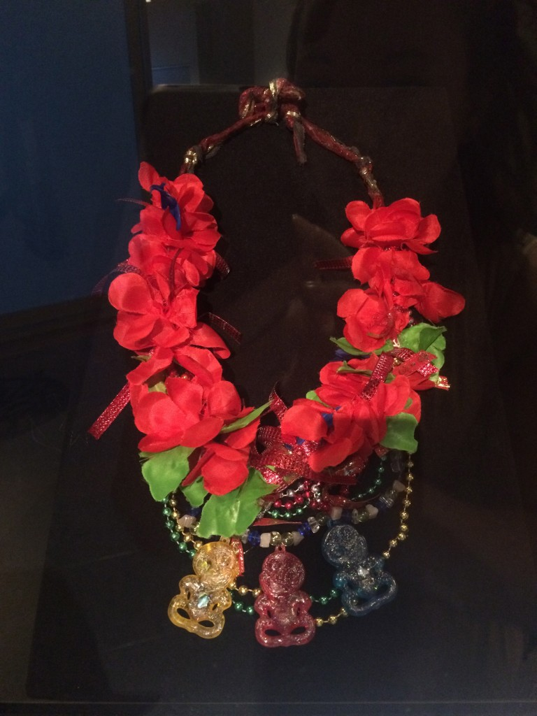 Lei with Hei Tiki, maker unknown c. 1975
