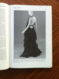 Noir (Peter Ingwersen) evening dress, 2010. From Farley Gordon and Hill, Sustainable Fashion, Bloomsbury, 2015