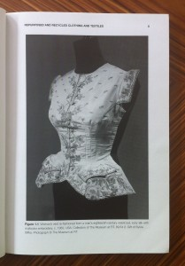 Woman's vest, c. 1950 From Farley Gordon and Hill, Sustainable Fashion, Bloomsbury, 2015