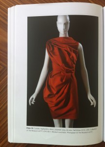 Costello Tagliapietra dress, 2010, color with AirDye© heat transfer method, From Farley Gordon and Hill, Sustainable Fashion, Bloomsbury, 2015