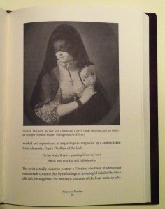 Henri R. Morland's The Fair Nun Unmasked, 1769. From Isabella Campagnol's Forbidden Fashions: Invisible Luxuries in Early Venetian Convents, Texas Tech University Press, 2014