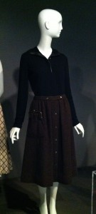 Bonnie Cashin shirt and skirt. Global Fashion Capitals. The Museum at FIT. Photo by the author.