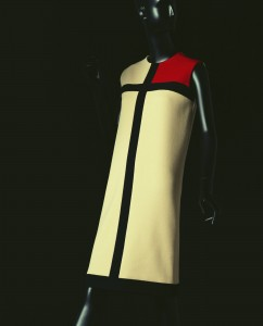 Yves Saint Laurent, Mondrian Dress, FW 1965. Kyoto Costume Institute