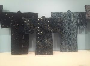 Katagami dyed garments