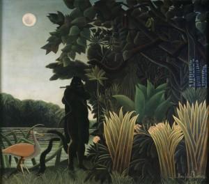 Le Douanier Rousseau, La Charmeuse de Serpent, 1907. Musée d'Orsay