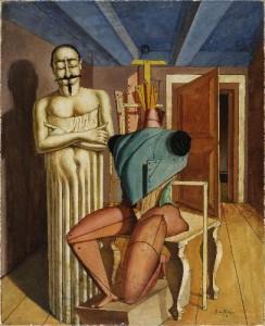 Giorgio de Chirico, Il Ritornante, 1917-18. Musée National d'Art Moderne