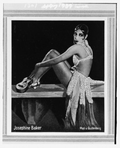 Dancer Josephine Baker (late 1920s) by unknown photographer . Library of Congress Prints and Photographs Division.