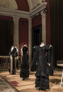 The black garments she privileged from the 1910s.
