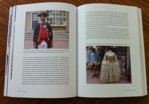 A journeyman silversmith and the Costume Design Center at Coloinal Williamsburg, from Costume: Performing Identities Through Dress, Indiana University Press, 2015